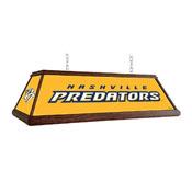 Nashville Predators: Premium Wood Pool Table Light
