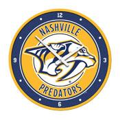 Nashville Predators: Modern Disc Wall Clock