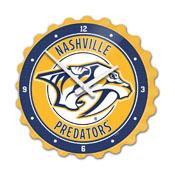 Nashville Predators: Bottle Cap Wall Clock