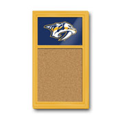 Nashville Predators: Cork Noteboard