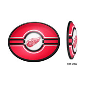 Detroit Red Wings: Oval Slimline Illuminated Wall Sign
