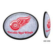Detroit Red Wings: Ice Rink - Oval Slimline Illuminated Wall Sign