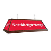 Detroit Red Wings: Premium Wood Pool Table Light