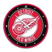 Detroit Red Wings: Modern Disc Wall Clock