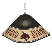 TXST - Texas State Bobcats Game Table Light-Square-Black