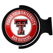 Texas Tech Red Raiders Rotating Illuminated Team Spirit Wall Sign-Round