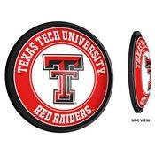 Texas Tech Red Raiders Slimline Illuminated Team Spirit Wall Sign-Round