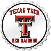 Texas Tech Red Raiders Team Spirit Bottle Cap Wall Sign