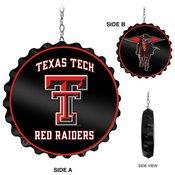 Texas Tech Red Raiders Team Spirit Bottle Cap Dangler-Primary Logo