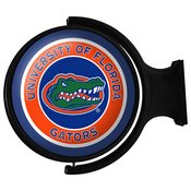 UF Florida Gators Rotating Illuminated Team Spirit Wall Sign-Round