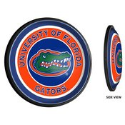 UF Florida Gators Slimline Illuminated Team Spirit Wall Sign-Round