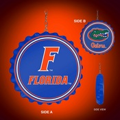 UF Florida Gators Team Spirit Bottle Cap Dangler-Primary Logo