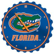 UF Florida Gators Team Spirit Bottle Cap Wall Clock-Primary Logo