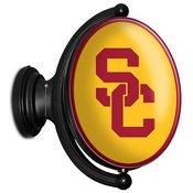 USC Trojans Rotating LED Team Spirit Wall Sign
