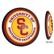 USC Trojans Slimline Illuminated Team Spirit Wall Sign-Round