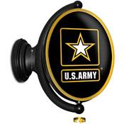 US Army: Original Oval Illuminated Rotating Wall Sign