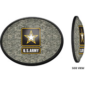 US Army: Oval Slimline Lighted Wall Sign