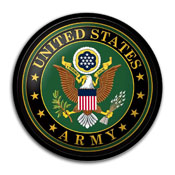 US Army: Modern Disc Wall Sign