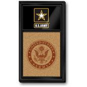 US Army: Dual Logo - Cork Note Board