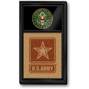 US Army: Seal, Dual Logo - Cork Note Board