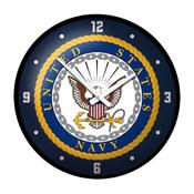 US Navy: Modern Disc Wall Clock