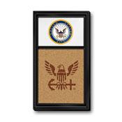 US Navy: Seal, Dual Logo - Cork Note Board