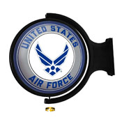 US Air Force: Original Round Rotating Lighted Wall Sign