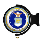 US Air Force: Seal - Original Round Rotating Lighted Wall Sign