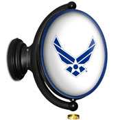 US Air Force: Original Oval Rotating Lighted Wall Sign