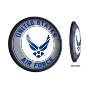 US Air Force: Round Slimline Lighted Wall Sign