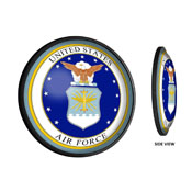 US Air Force: Seal - Round Slimline Lighted Wall Sign