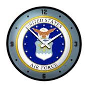 US Air Force: Seal - Modern Disc Wall Clock