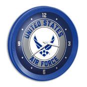 US Air Force: Ribbed Frame Wall Clock