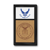 US Air Force: Dual Logo - Cork Note Board
