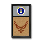 US Air Force: Dual Logo, Seal - Cork Note Board