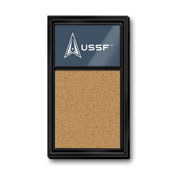US Space Force: Cork Note Board