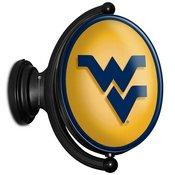 WVU - West Virginia Mountaineers  Rotating LED Team Spirit Wall Sign