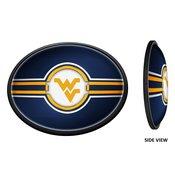 WVU - West Virginia Mountaineers  Slimline LED Team Spirit Wall Sign-Blue