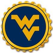 WVU - West Virginia Mountaineers  Team Spirit Bottle Cap Wall Sign