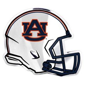 """Auburn University Embossed Helmet Emblem 3.25 x 3.25 - """"AU"""" Primary Logo"""