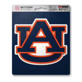 "Auburn University Matte Decal 5 x 6.25 - ""AU"" Logo"