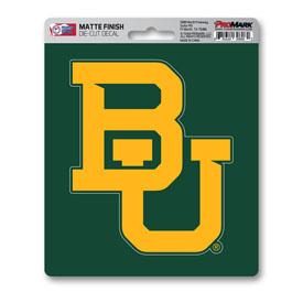 "Baylor University Matte Decal 5 x 6.25 - ""BU"" Logo"