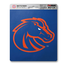 "Boise State University Matte Decal 5 x 6.25 - ""Bronco"" Logo"