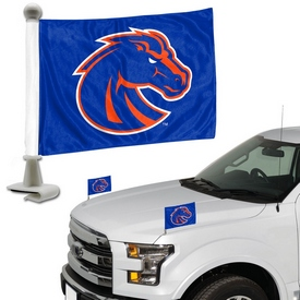 "Boise State University Ambassador Flags 4 x 6 - ""Bronco Head"" Primary Logo"