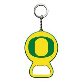 """University of Oregon Keychain Bottle Opener 3 x 3 - """"O"""" Primary Logo"""