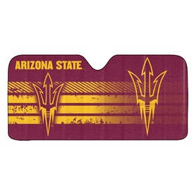 "Arizona State University Auto Shade 59"" x 29.5"" - Primary Logo, Alternate Logo and Wordmark"