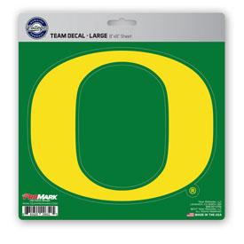 """University of Oregon Large Decal 8 x 8 - """"O"""" Logo"""