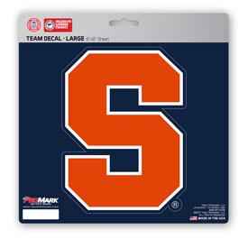"""Syracuse University Large Decal 8 x 8 - """"Block S 'Syracuse'"""" Logo"""