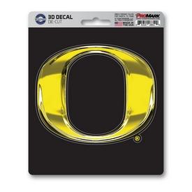 "University of Oregon 3D Decal 5 x 6.25 - ""O"" Logo"