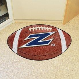 Akron Football Rug 20.5x32.5